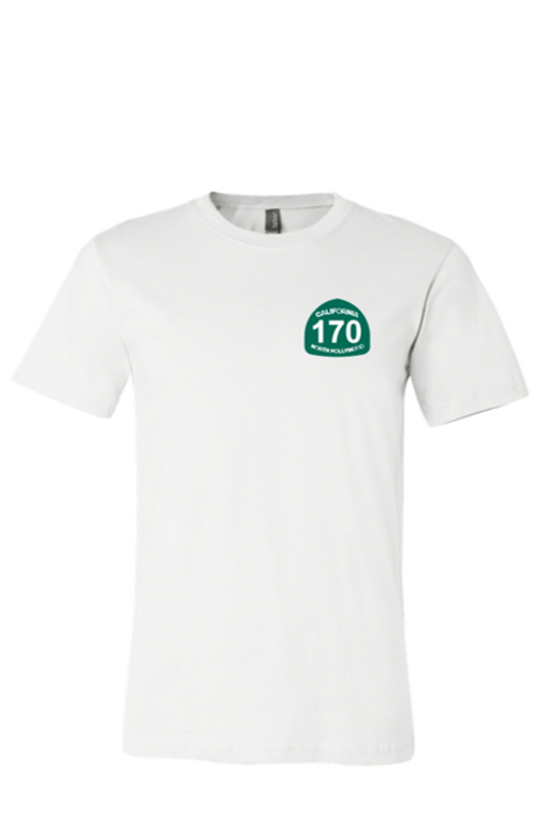 170 North Hollywood - White T-Shirt