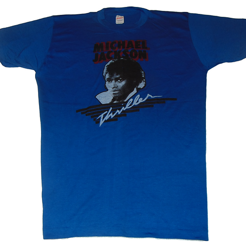 Vintage 80s Michael Jackson Thriller Promo Shirt