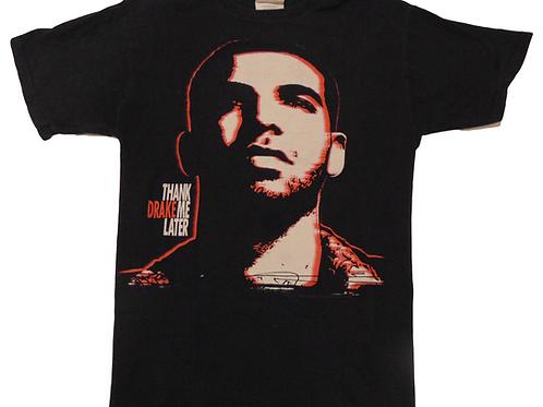 Drake 2010 Licensed Thank Me Later Promo Shirt