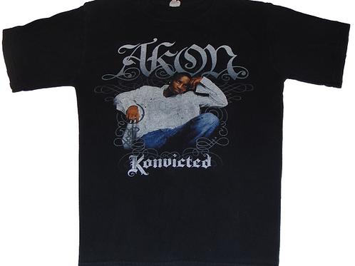 Akon Konvicted 2007 Tour Shirt