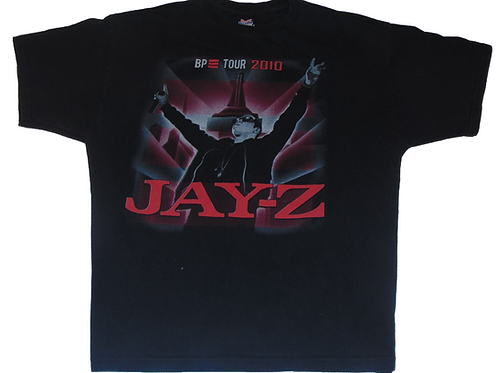 Vintage 2010 Jay-Z, Young Jeezy and Trey Songs - Blueprint 3 TourShirt