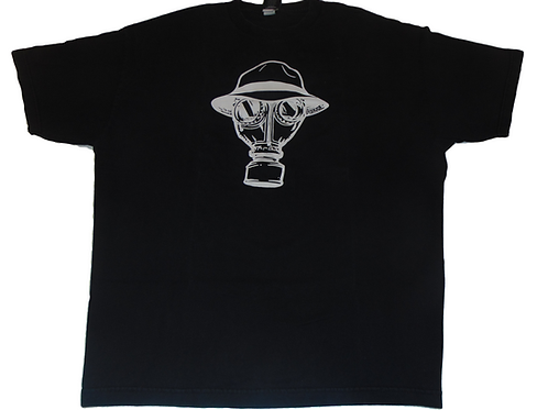Vintage 90s Psycho Realm Gas Mask Shirt