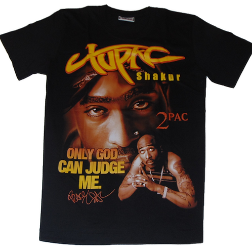 Vintage 2Pac Only God Can Judge Me Roxx Shirt