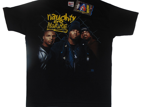Vintage 90s Naughty by Nature 19 Naughty 3 Shirt