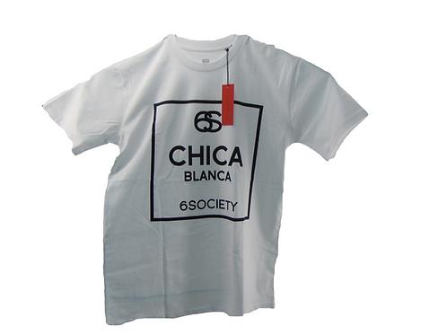 Authentic 6Society White Chica Blanca Shirt