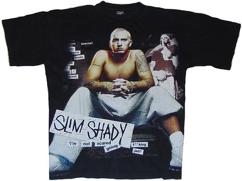 Vintage Eminem Slim Shady Freddy Tag Shirt