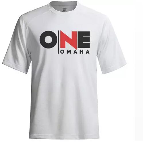 Omaha ONE - White T-Shirt