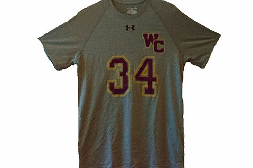 Vintage Under Armour West Covina High Football #34 Shirt