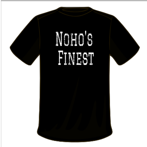 Noho's Finest - Black T-shirt