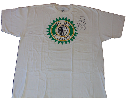 Autographed Pete Rock &CL Smooth Mecca & Soul Brother 20th Anniversary Shirt