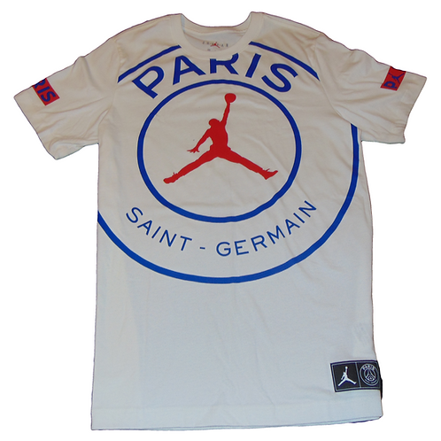 Jordan Paris White Shirt