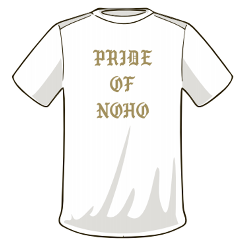 Pride of Noho - White T-Shirt