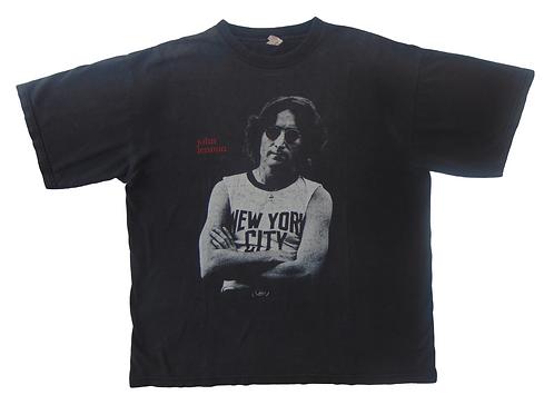 Vintage 90s John Lennon NYC Imagine Memorial Shirt