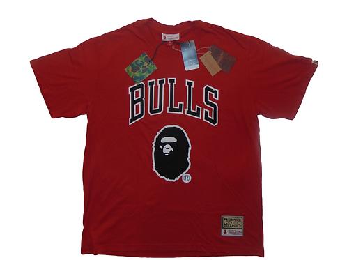 BAPE | Mitchell & Ness Bulls Shirt