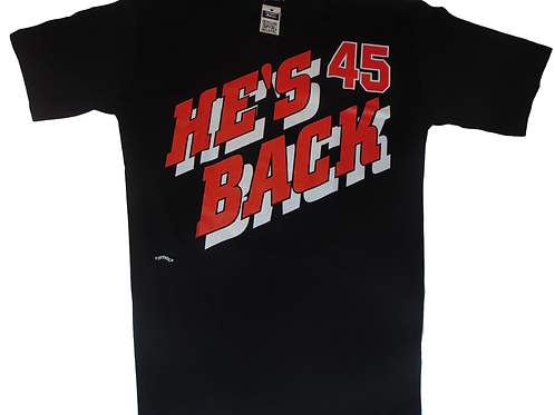 Vintage He's Back 45 Nutmeg Shirt (90's Deadstock)