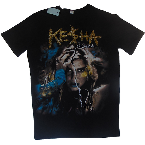 Kesha 2011 Cannibal Tour Shirt