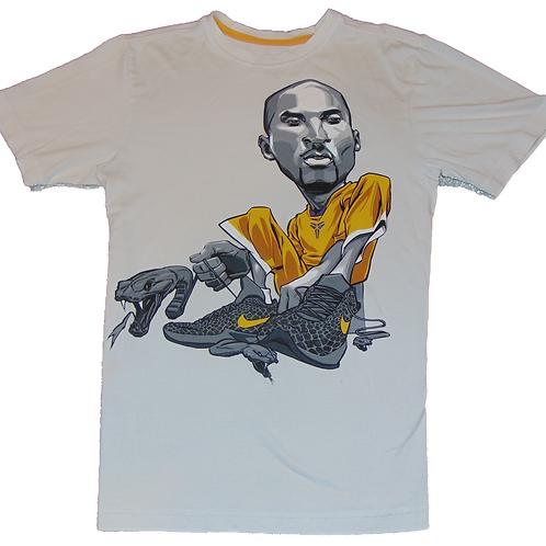 Kobe Bryant Nike Caricature Dri-Fit Shirt
