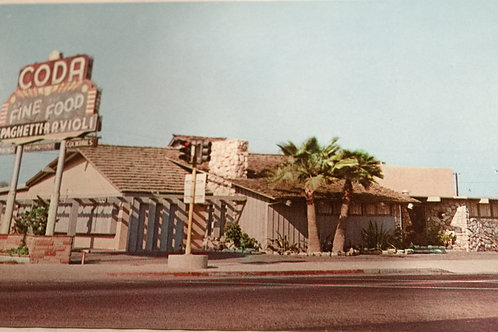 Vintage Codas Restaurant Postcard