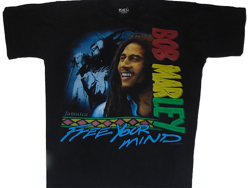 Vintage Bob Marley 2000 Free Your Mind Shirt