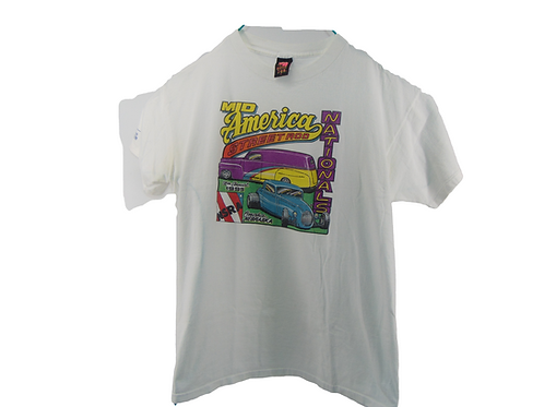 Vintage 90s Omaha Mid America Street Rod Nationals Shirt