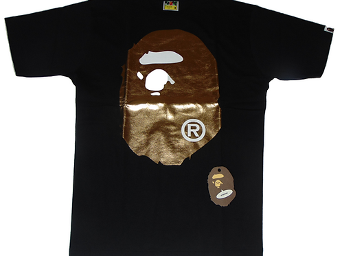 BAPE Gold Foil Shirt