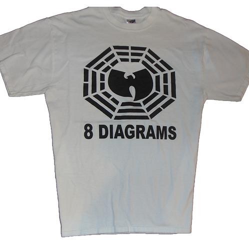 Vintage Wu-Tang 2007 8 Diagrams Shirt