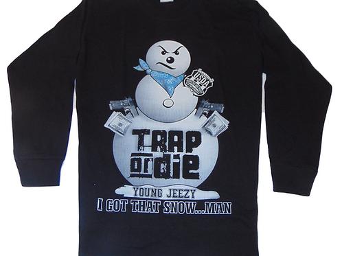 Young Jeezy Da Snowman Vintage Trap or Die Sweatshirt