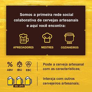 Rede Social Colaborativa de Cervejas Artesanais