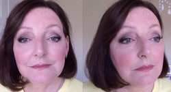 Luminous skin & subtly defined eyes for today's make-up