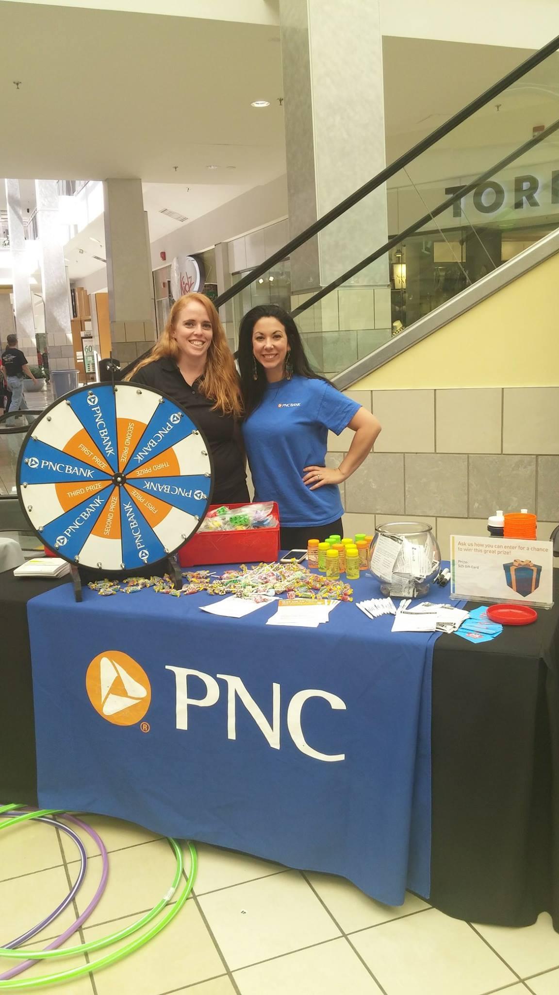 PNC Bank at Bricks 4 Kidz Event
