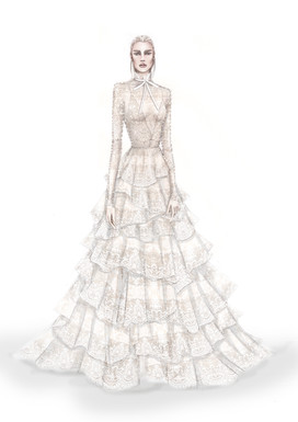 ISABELLE ARMSTRONG Bridal SS20 collection