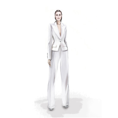 ALEXANDRE VAUTHIER for VIP Maid of honor