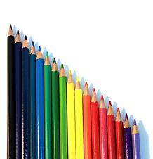 Dikey Renkli Kalemler