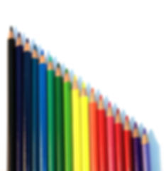 Vertical Colored Pencils