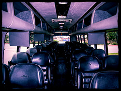Leather Seating for 34 Passengers