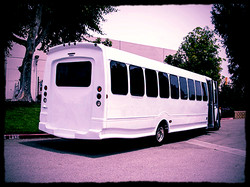 34 Passenger Limo Coach Bus