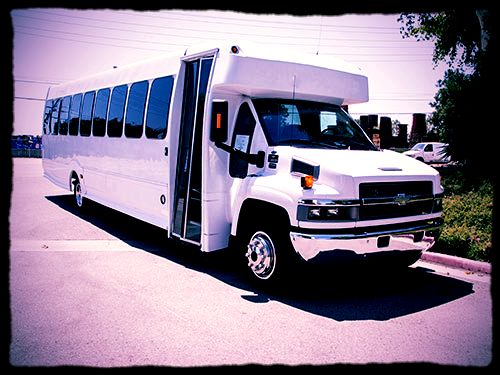 Limo Coach Bus