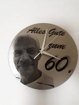Uhr zum 60- ten