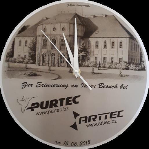 Uhr Präsent für MP Kretschmer