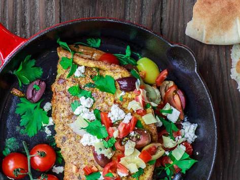 Quick recipes - Tasty Mediterranean Omelette