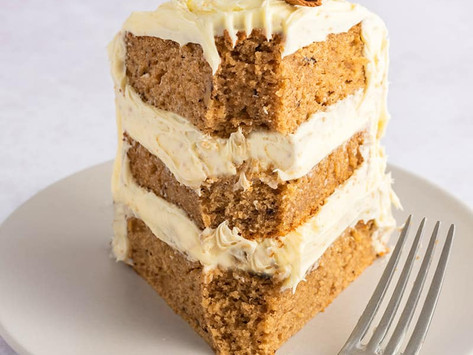Healthy Treats - Cinnamon cake