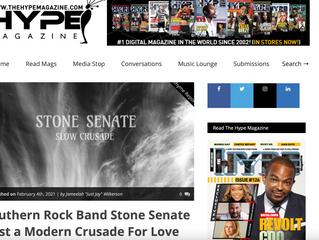 Southern Rock Band Stone Senate Cast a Modern Crusade For Love