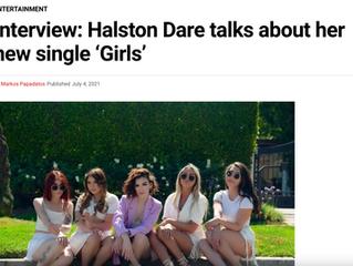 Interview: Halston Dare talks about her new single 'Girls'