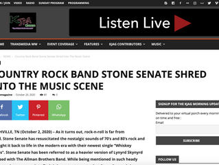 COUNTRY ROCK BAND STONE SENATE SHRED INTO THE MUSIC SCENE
