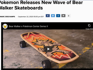 Pokemon Releases New Wave of Bear Walker Skateboards
