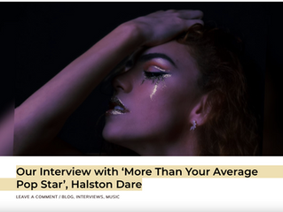 Our Interview with 'More Than Your Average Pop Star', Halston Dare