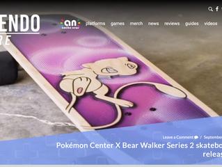 Pokémon Center X Bear Walker Series 2 skateboards unveiled, releasing next week