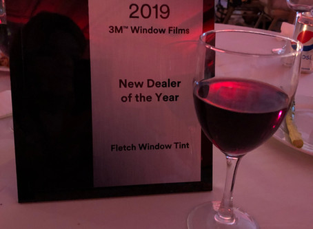 Fletch Window Tint Named 2019 3M New Prestige Dealer of The Year