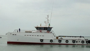DAMEN built 2010 SeaAxe Fast Crew Boat available in Cyprus