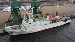 Russian Research & Survey Vessel with a Strong Hull for Sale